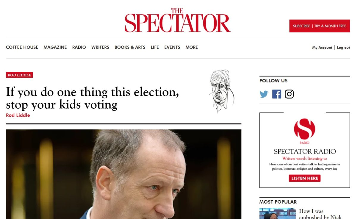 Spectator's Isabel Hardman distances herself from latest Rod Liddle column amid backlash