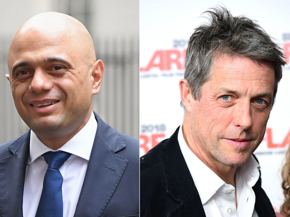 Hacked Off's Hugh Grant refused to shake Sajid Javid's hand over past press abuse victims meeting