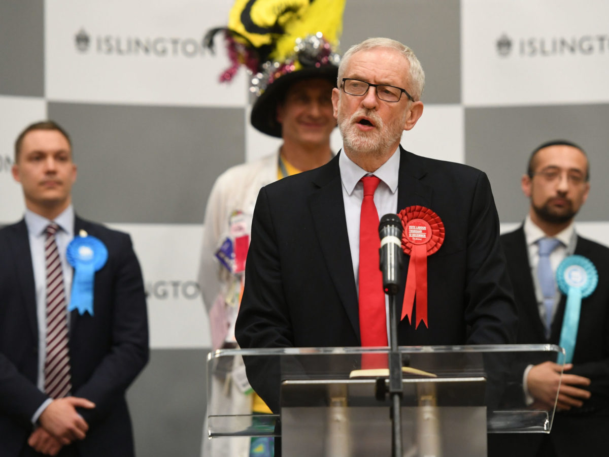 Labour blames press for 'echoing' Tory message on Brexit after huge election defeat