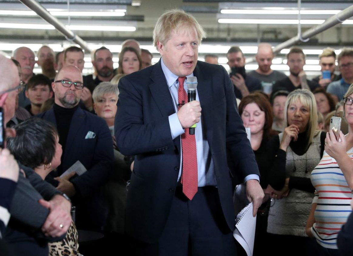 Channel 4 News says sorry for 'people of colour' misquote on viral video of Boris Johnson speech