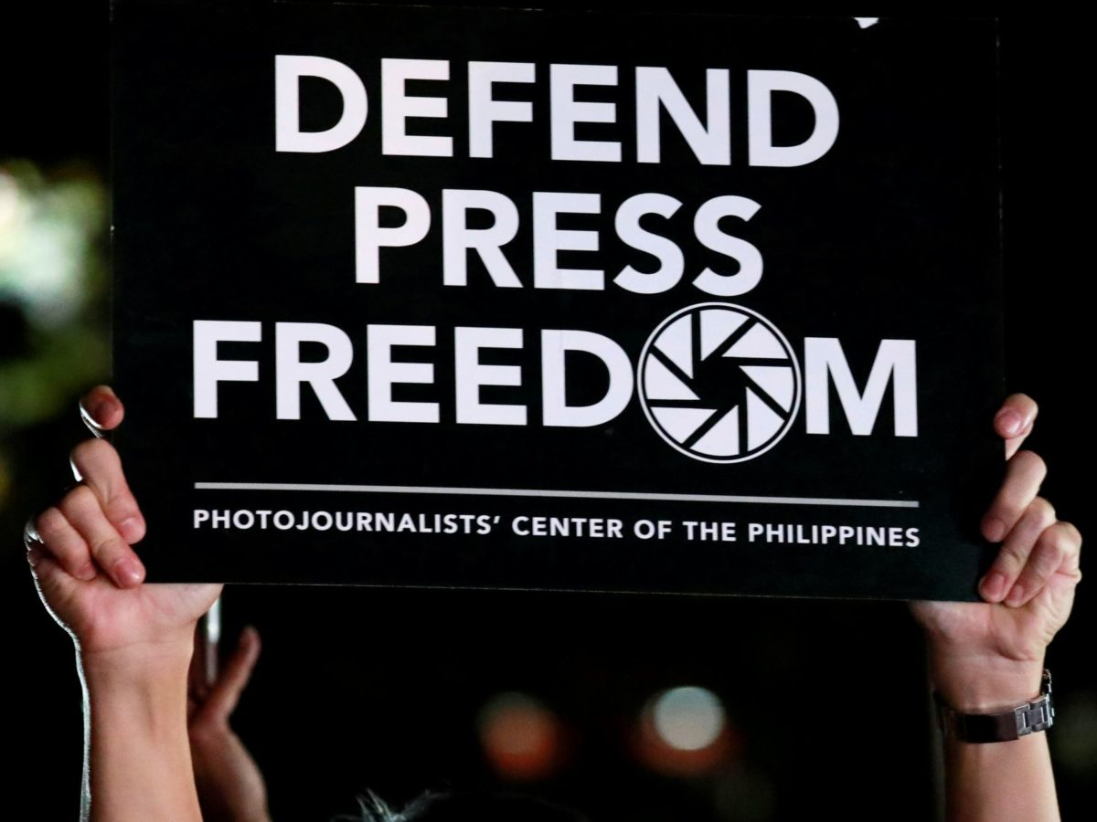 Global freedom of expression 'at ten-year low', report says
