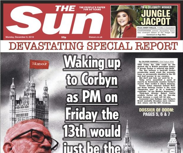 What the papers say about the 2019 general election