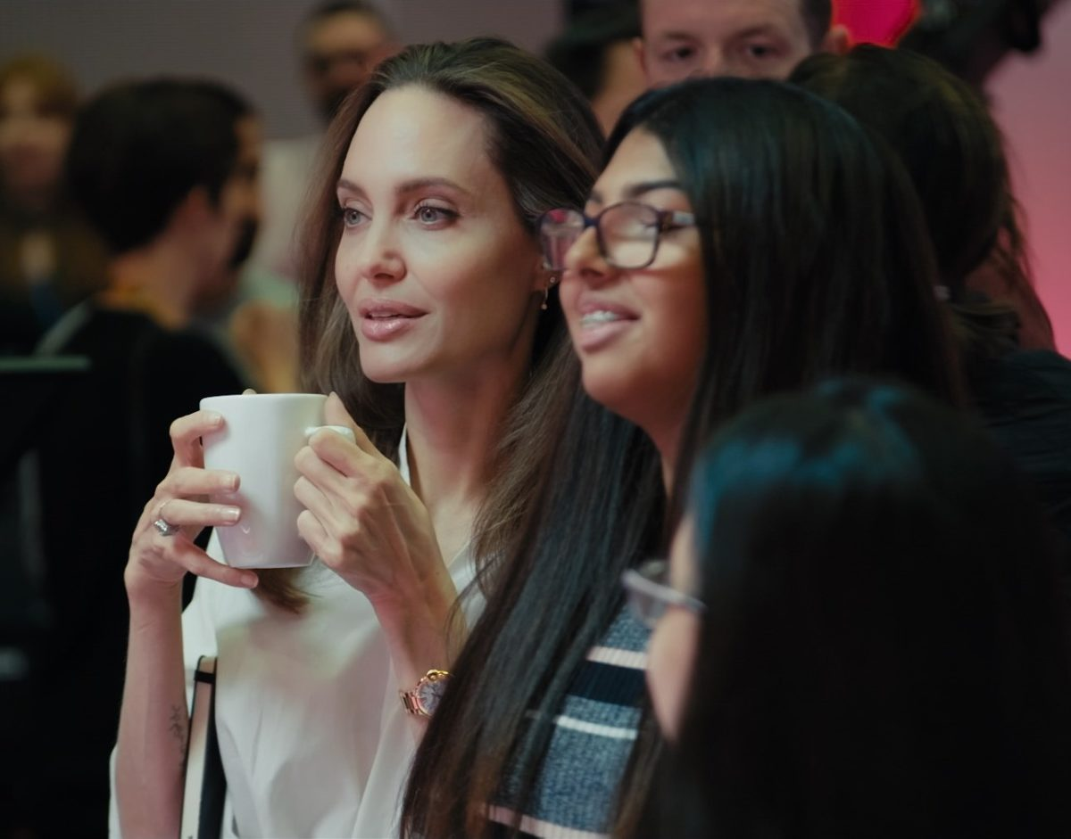BBC teams up with Angelina Jolie on news show for younger audiences