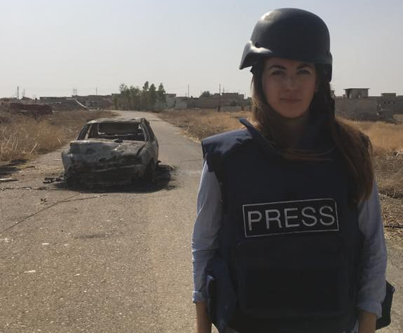 Telegraph's Middle East correspondent says Russia tried to 'discredit' her reports on Syria