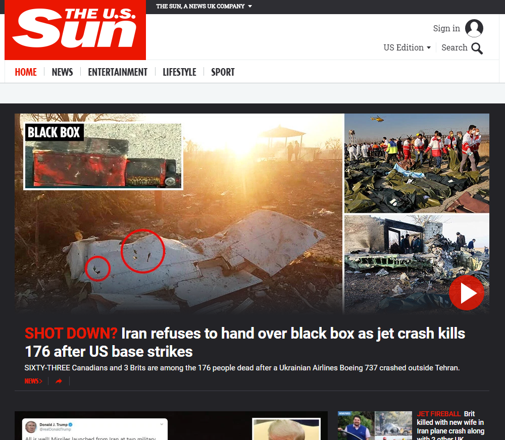 Sun US website goes live as title looks to mirror UK success