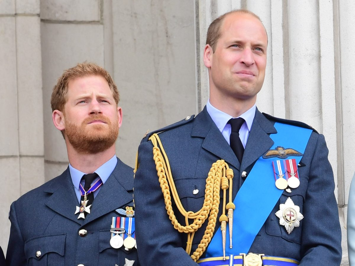 Princes William and Harry label royal rift story 'false' and 'offensive'