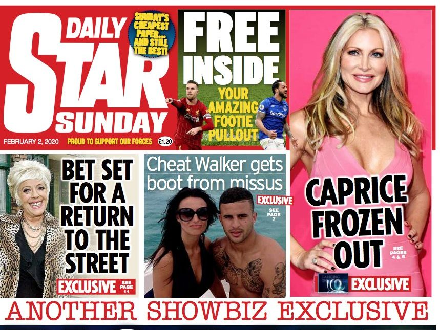 National newspaper ABCs: Daily Star Sunday sees biggest print drop in first 2020 circulation figures