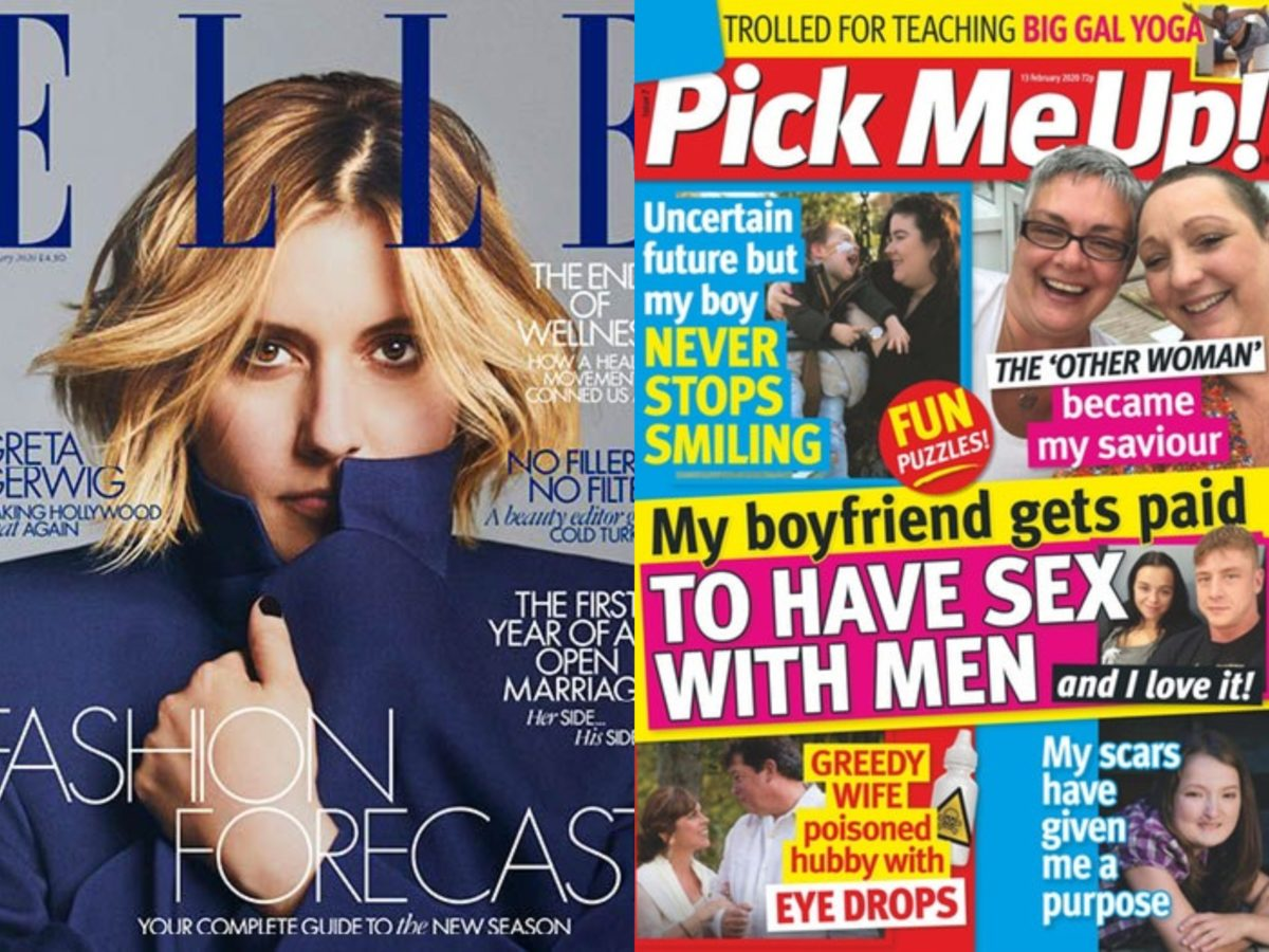 Women's mags ABCs: Pick Me Up and Elle circulations fall by quarter + full figures