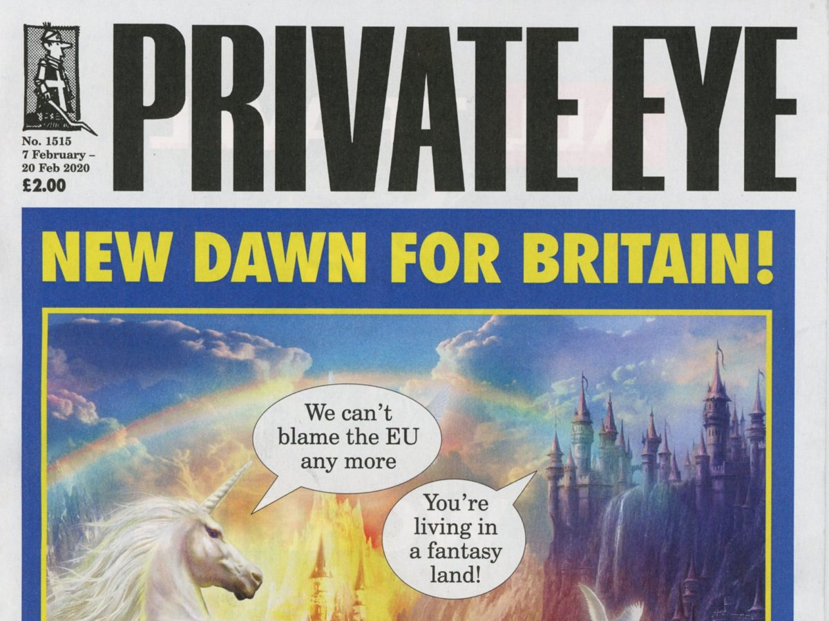 Private Eye draws on Blitz spirit after unexploded WW2 bomb threatens print deadline