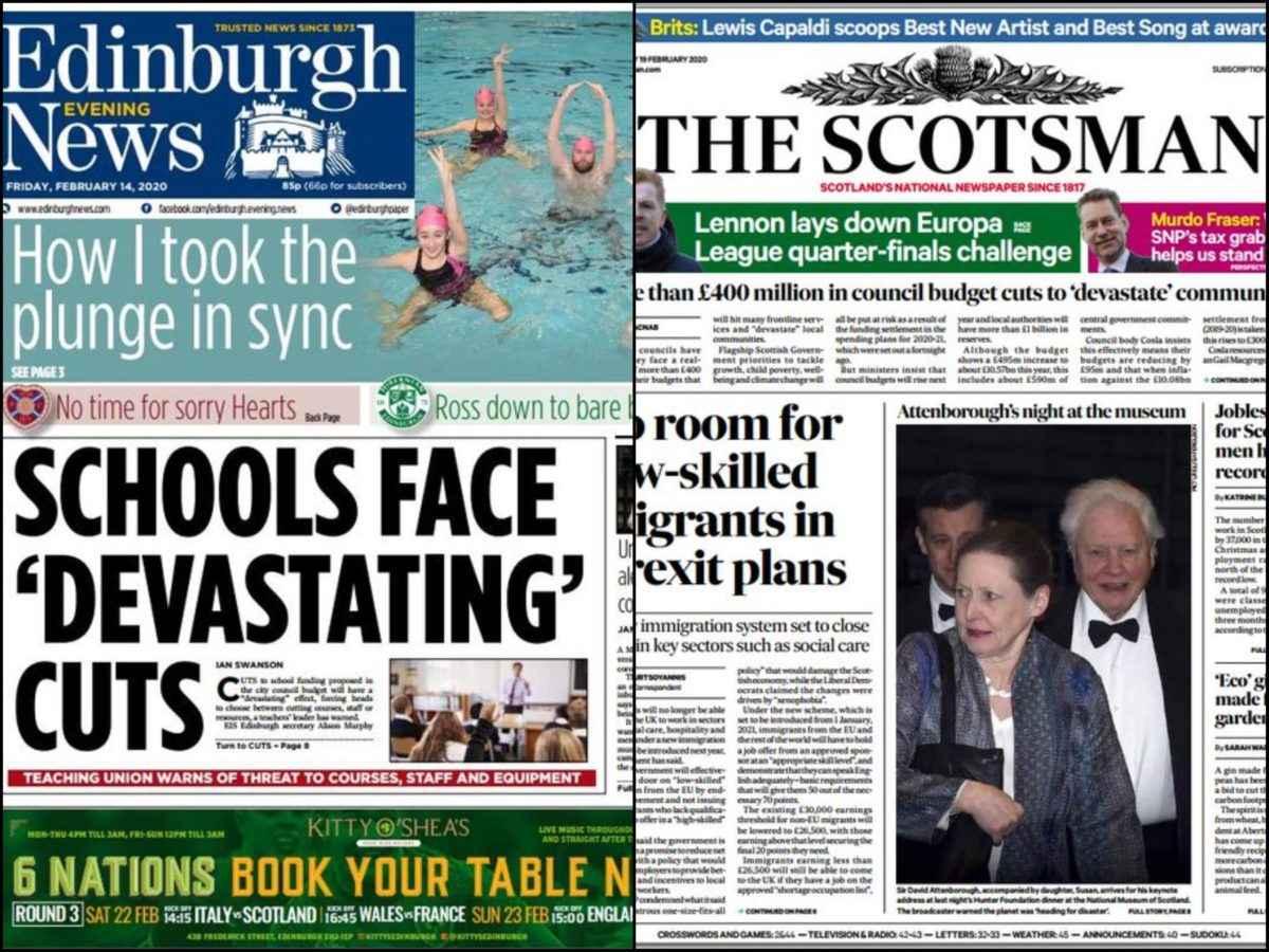 Scotsman one of six titles to be overseen by same editor in JPI Media Scotland restructure