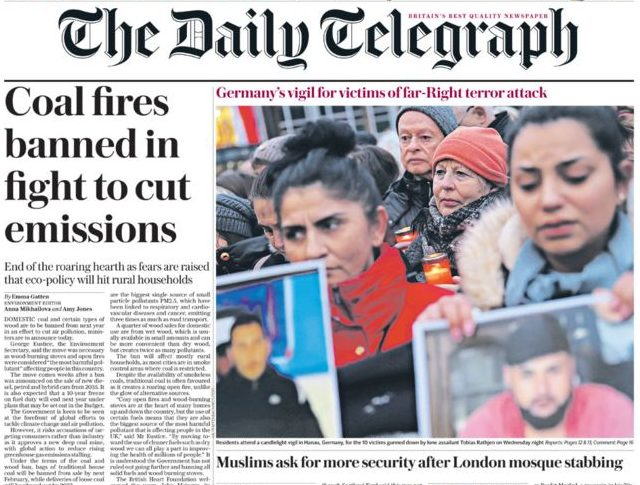 Telegraph back on sale at all WH Smith newsstands after companies resolve dispute