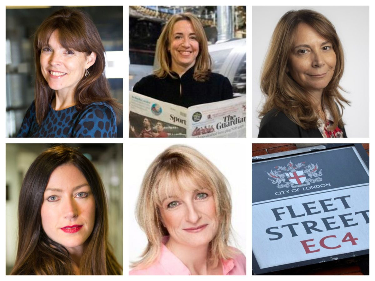 More than third of UK national newspapers now edited by women in Fleet Street shake-up
