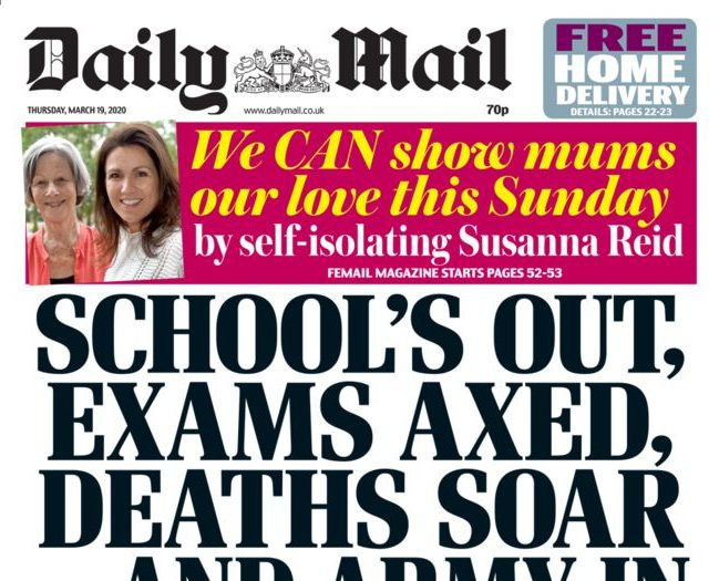 National newspaper ABCs: Daily Mail closes circulation gap on Sun to 5,500 copies