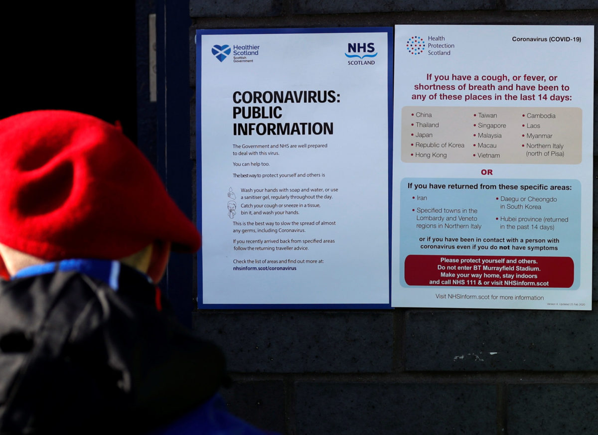 Government creates team to tackle coronavirus 'fake news'