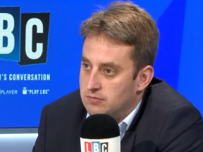 LBC political editor Theo Usherwood 'on road to recovery' after being hospitalised with suspected coronavirus