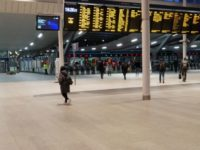 London Bridge Station during rush hour on Tuesday, March 16 and 6pm