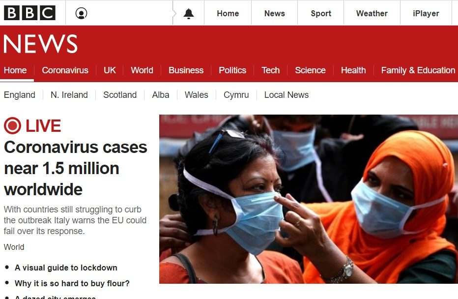 Five in every six BBC News articles devoted to Covid-19 while B2B coverage varies by sector, analysis shows
