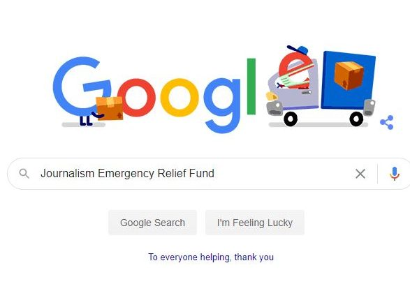 Google opens relief fund to local news publishers during coronavirus outbreak