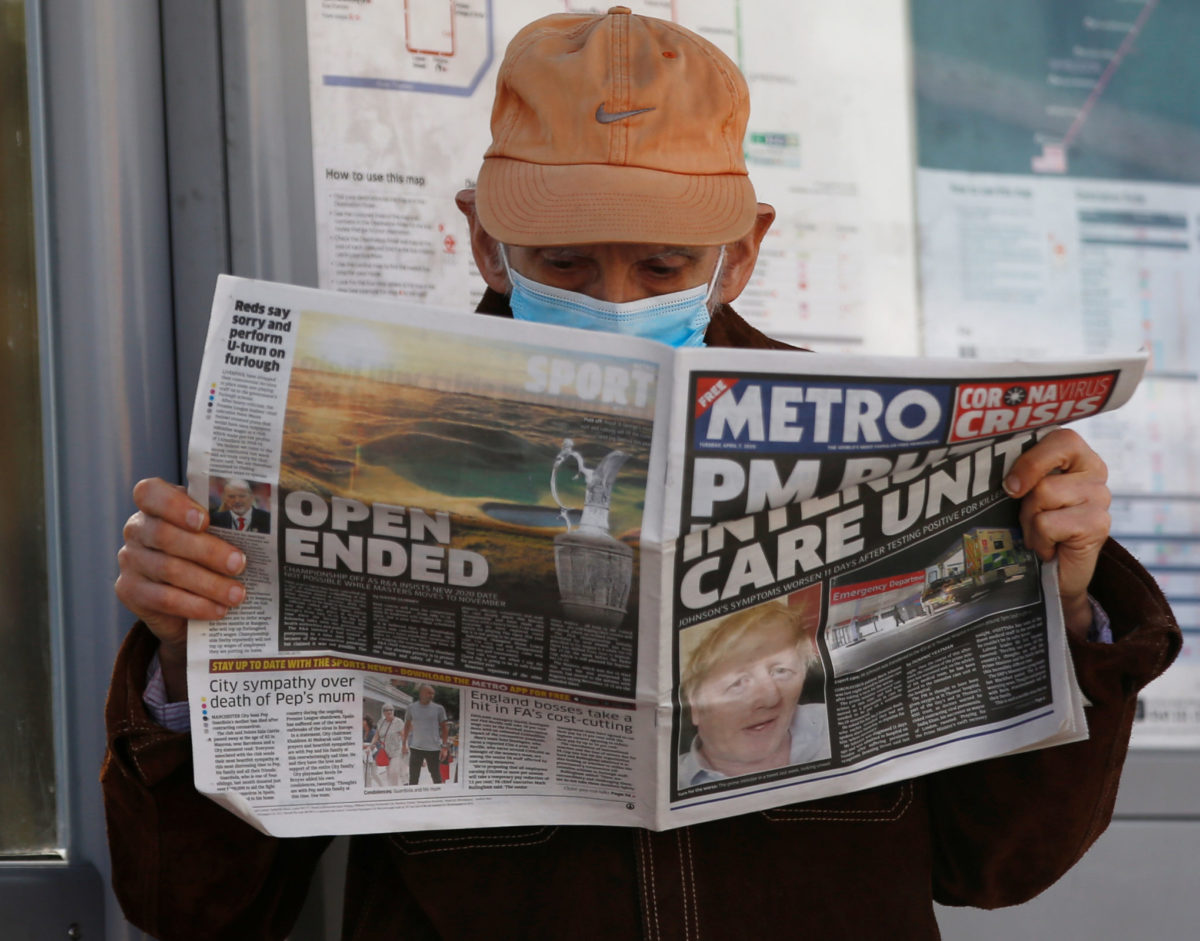 Metro continues to print at a loss to serve UK's key workers still commuting