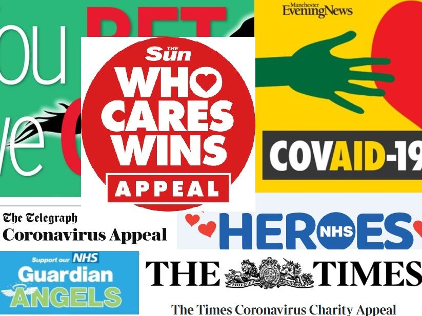 News publishers have raised at least £7m so far to help fight coronavirus