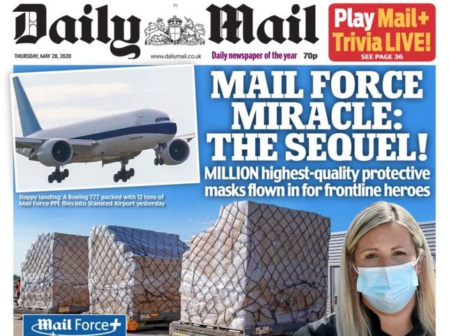 Mail publisher operating at a loss in lockdown as advertising downturn hits revenues