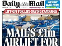 Daily Mail front page