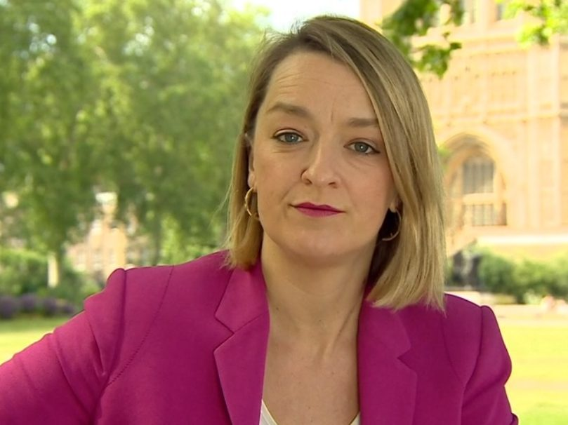 BBC backs Laura Kuenssberg after complaints over tweet 'defending' Dominic Cummings