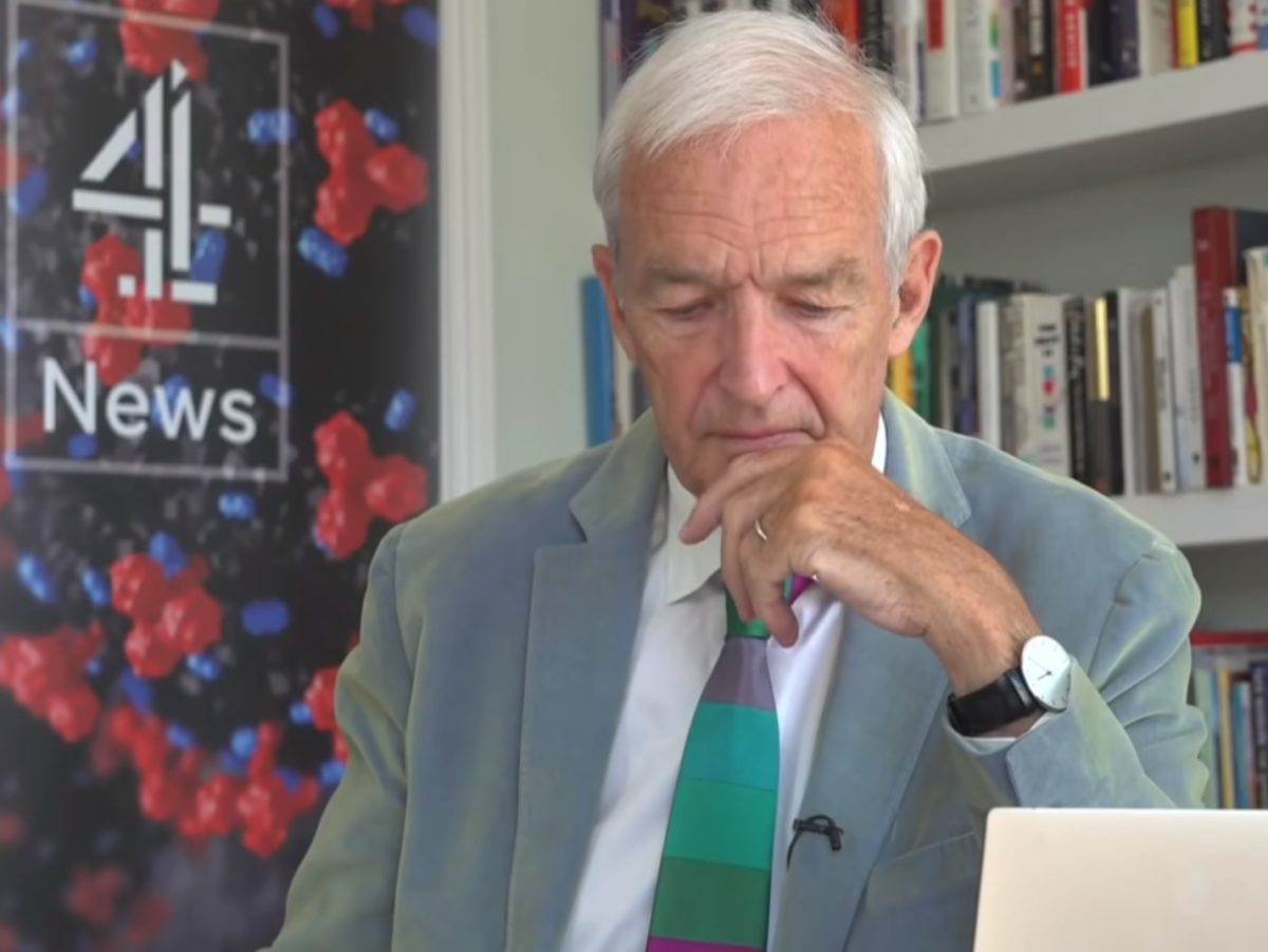 Jon Snow: There's been a 'fair amount of bullshit which needed probing' during the pandemic
