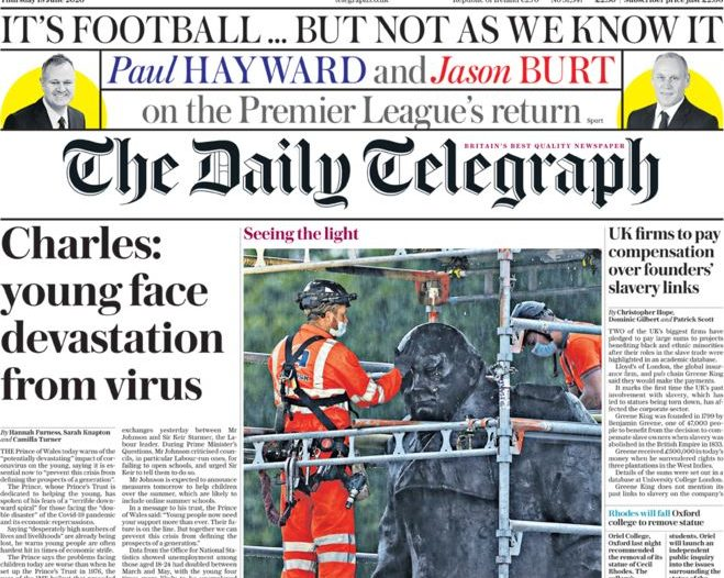 Telegraph ditches branded content putting dozens of jobs at risk