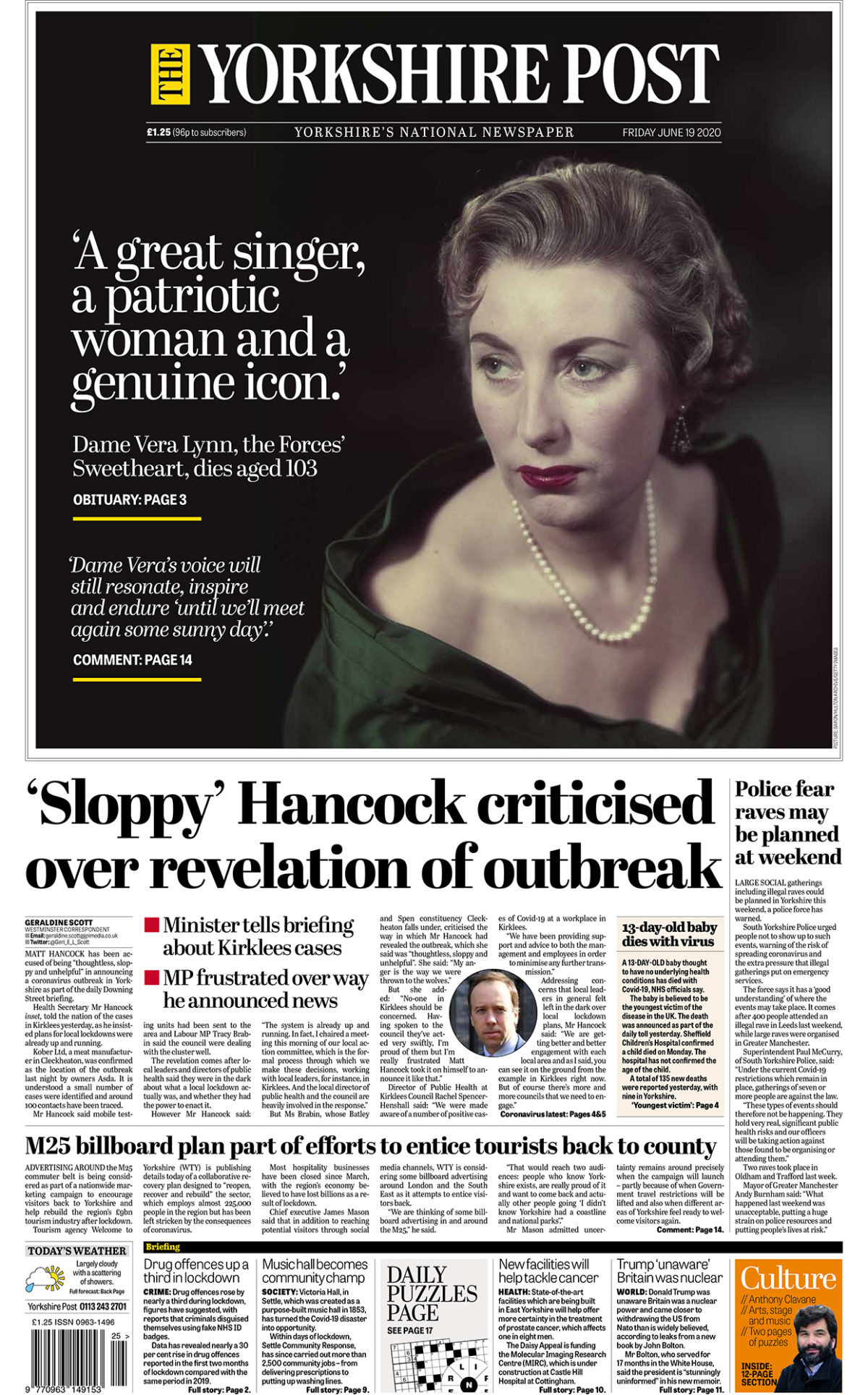 Yorkshire Post and Western Mail among winners at Regional Press Awards for 2019