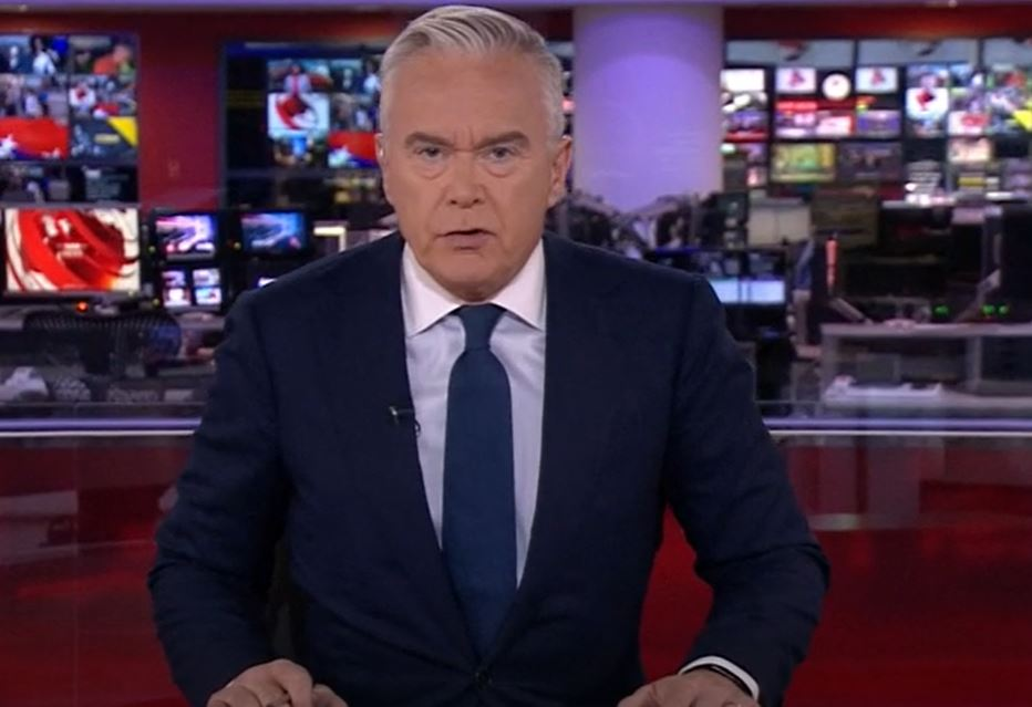 BBC's Huw Edwards tops our reader poll as 'best late evening TV news presenter during pandemic'