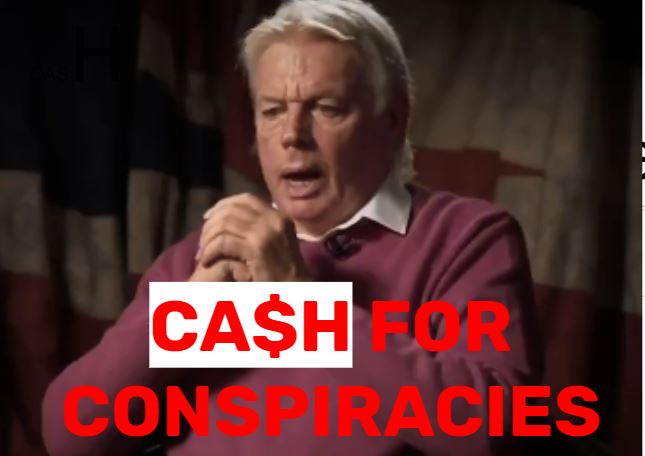 Cash for conspiracies: How David Icke, 'alternative' media and tech giants make money from coronavirus conspiracies