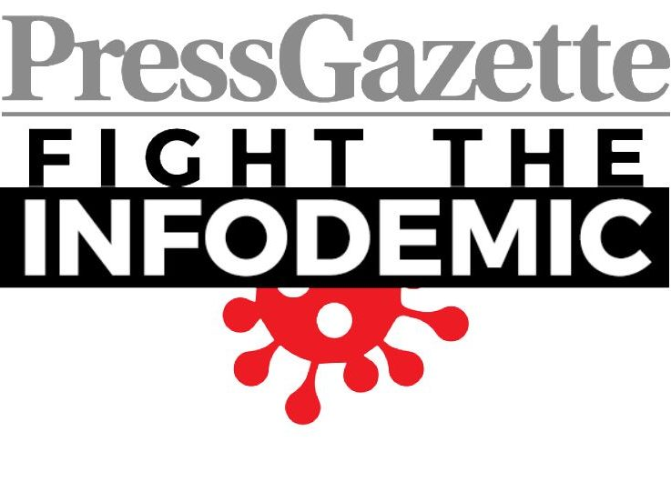 Fight the Infodemic: Press Gazette launches campaign as thousands voice concern over spread of Covid-19 conspiracies on social media