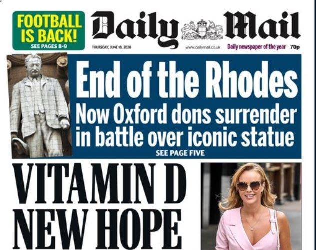 Eclipse of The Sun: Daily Mail says it has overtaken print sale of News UK red-top for first time in 42 years