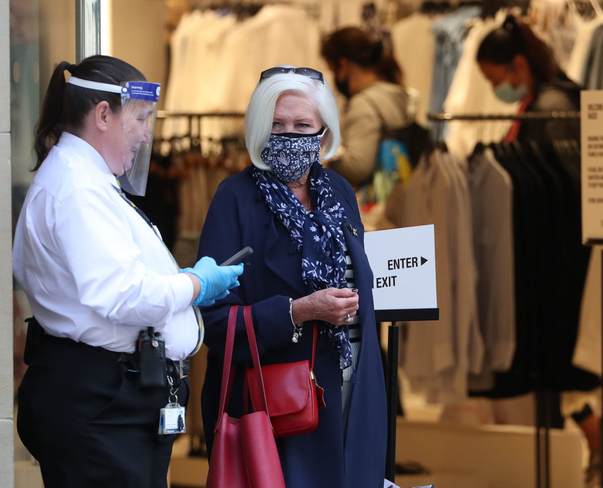 News diary 20-26 July: Face masks become mandatory in English shops and Russia 'interference' report to be published