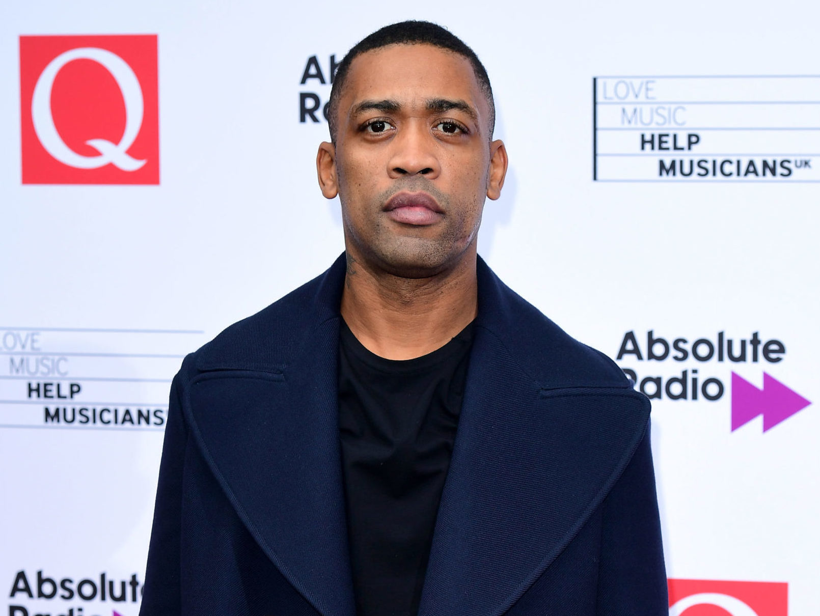 Grime artist Wiley