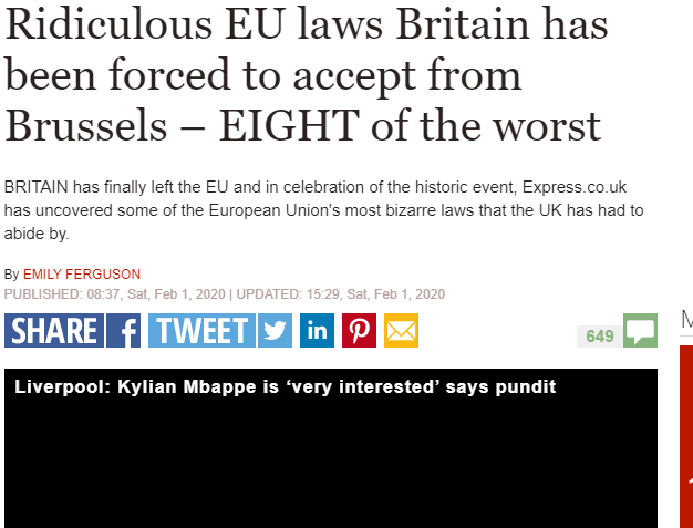 IPSO backs Express over banned bendy bananas but other EU claims ruled inaccurate