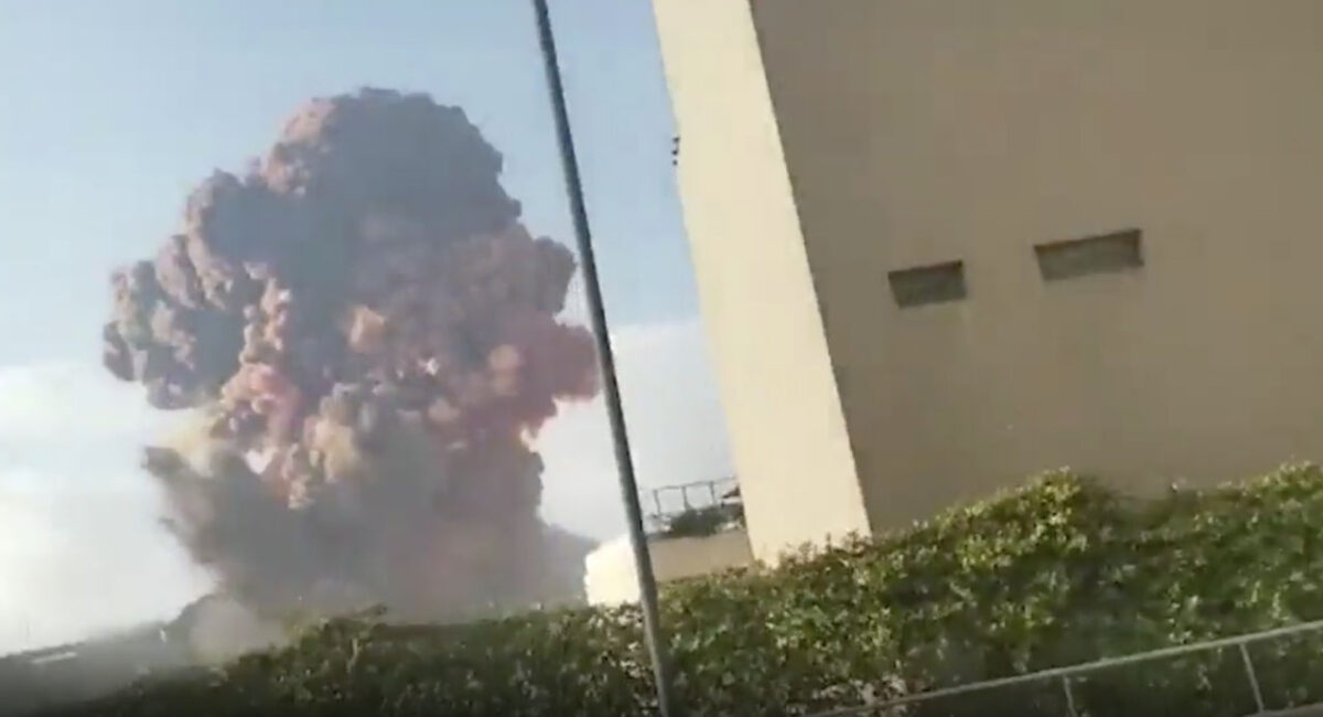 Journalists caught up in massive Beirut explosion as shockwave destroys newsrooms
