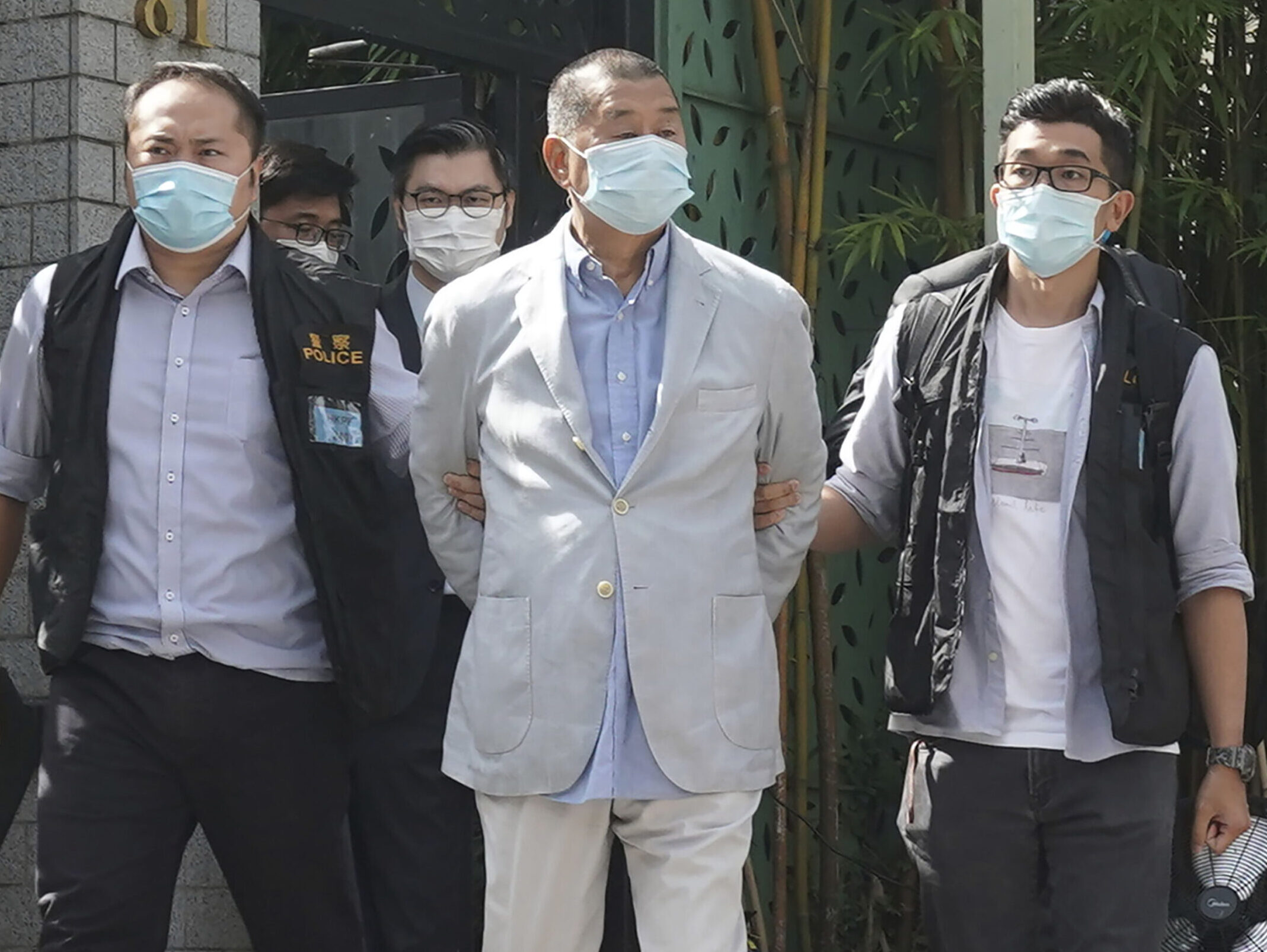 Jimmy Lai arrested
