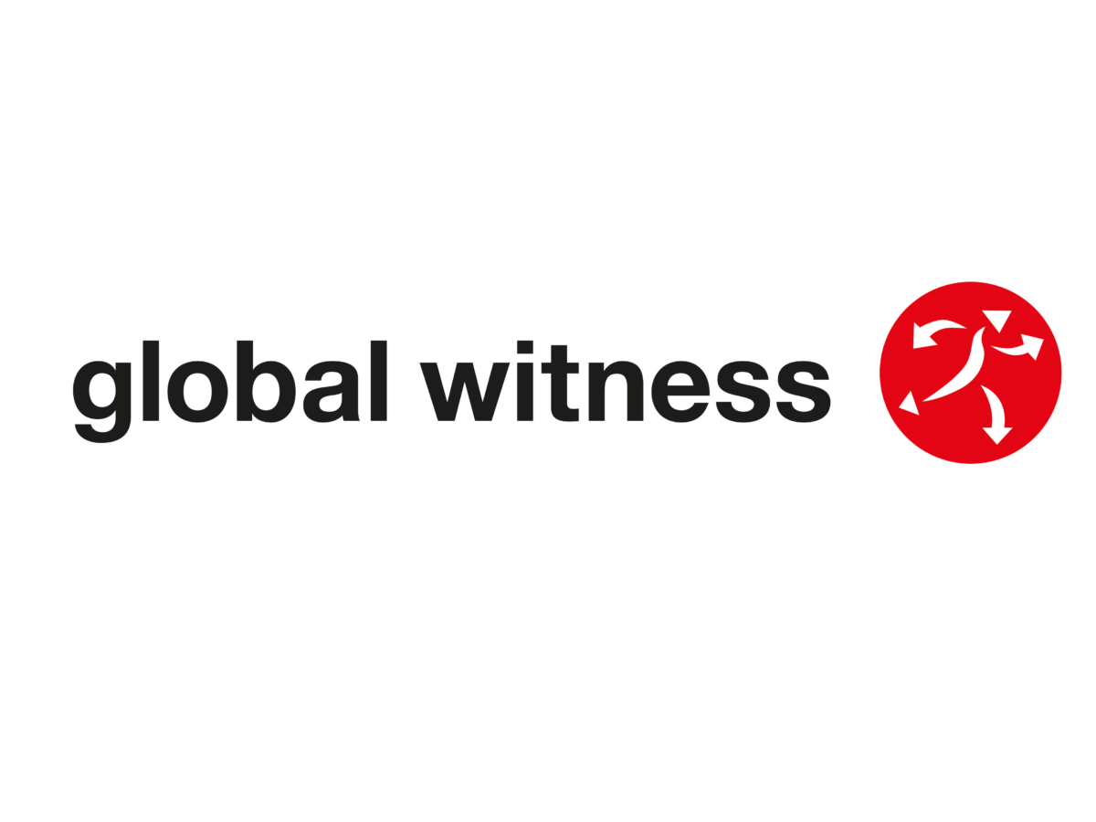 Global Witness logo investigative journalist job