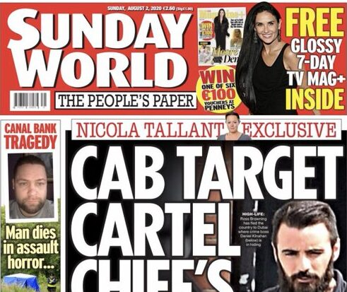 Paramilitary figures using IPSO complaints 'to keep us quiet', says Sunday World journalist