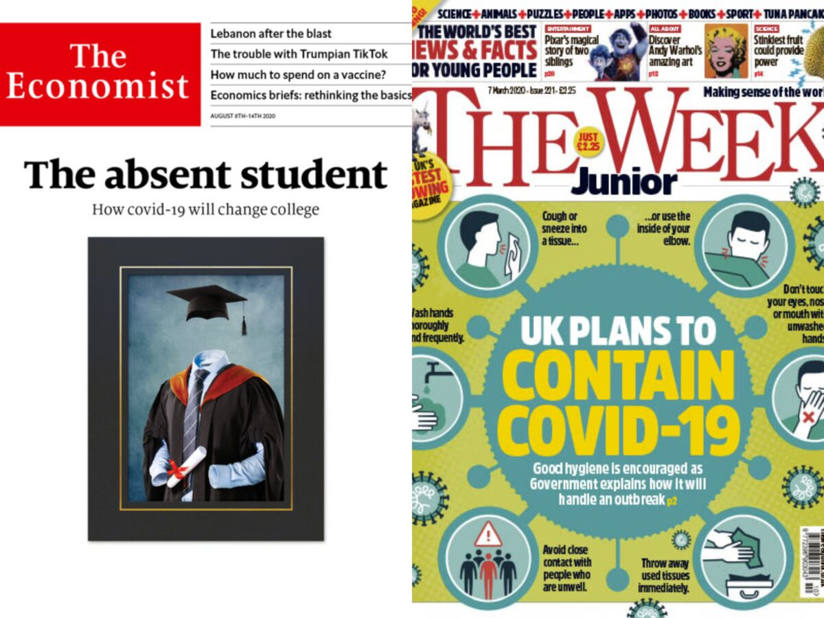 News magazine ABCs: The Week Junior circulation up by a fifth despite pandemic