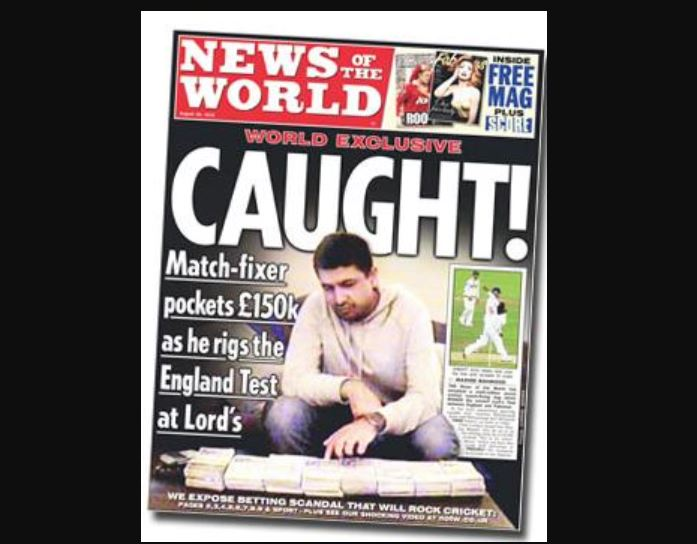 How the News of the World exposed cricket's greatest scandal