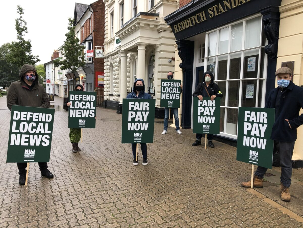 Local journalists go on strike over late payments and looming redundancies