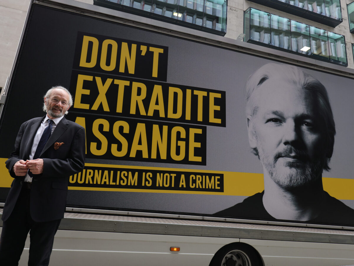Judge warns Julian Assange over outbursts in court during US extradition hearing