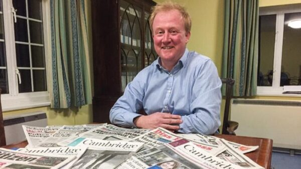 Regional press boss Edward Iliffe explains why he's been buying up local newspaper titles (rather than selling out)