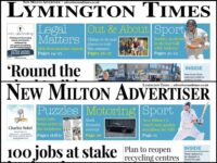 New Milton Advertiser and Lymington Times newspapers