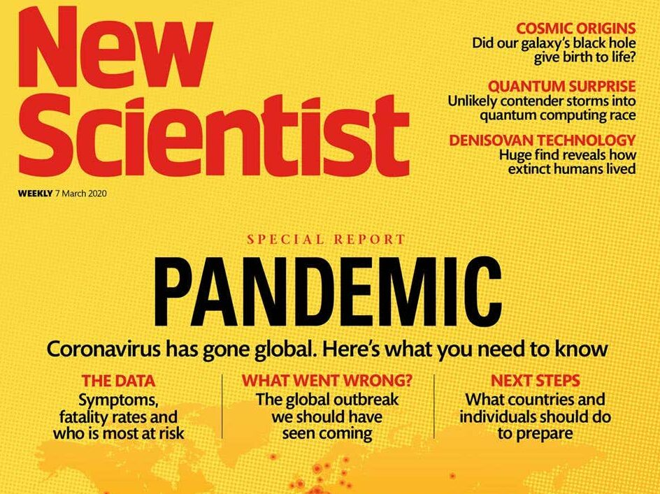 New Scientist sold for £70m to Daily Mail owner DMGT