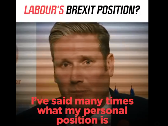 Facebook told Full Fact to remove fact-check ratings on doctored video of Keir Starmer during election