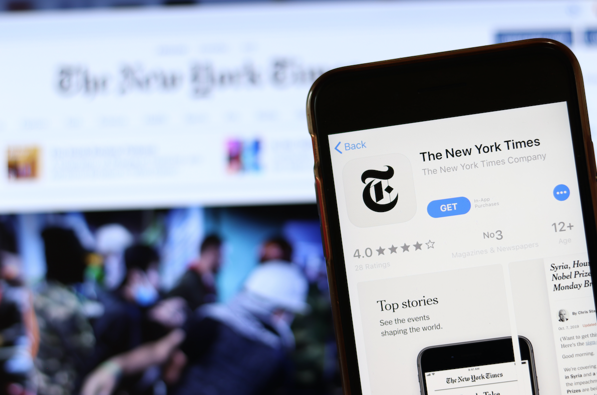 The 100k Club: Most popular subscription news websites in the world revealed